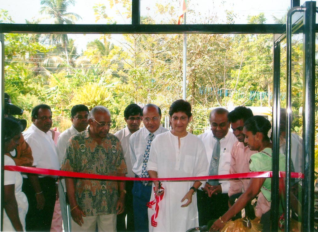 horagolla library opening